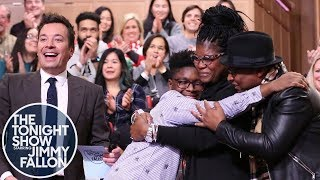 Jimmy and Home Depot Foundation Surprise a Family Affected by Two Hurricanes