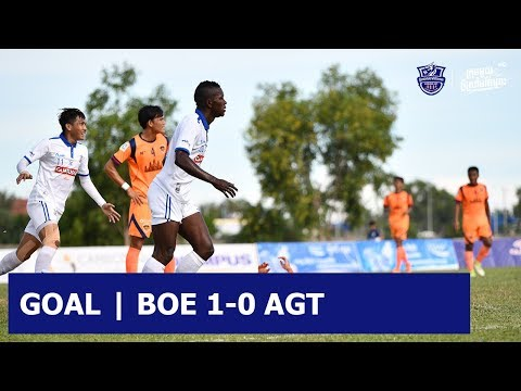 [Highlight] GOAL BY OMOGBA 1-0 ANGKOR TIGER