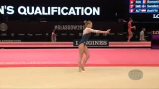 SPIRIDONOVA Daria (RUS) - 2015 Artistic Worlds - Qualifications Floor Exercise
