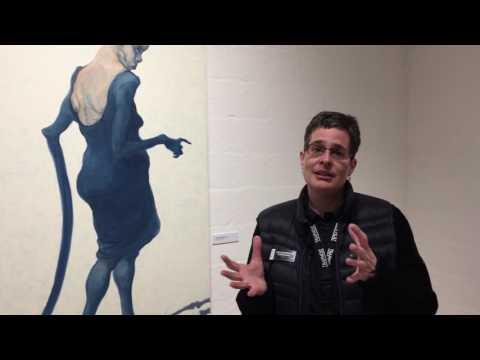 Lisa Korsgaard om Michael Kvium på Trapholt