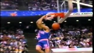 John Starks - 1992 NBA Slam Dunk Contest