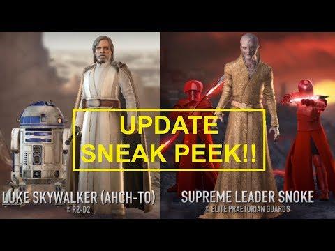 Update SNEAK PEEK! Star Wars: Force Arena | Episode 20