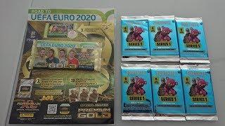 PREMIUM GOLD ROAD TO EURO 2020 VS FORTNITE POJEDYNEK PANINI