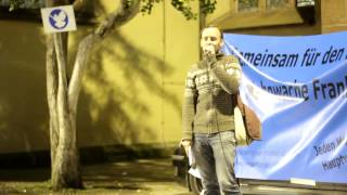 06.10.14 - Mahnwache für den Frieden - Frankfurt/Main [Teil 2]