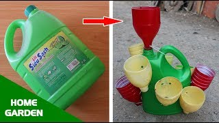 Turn waste plastic bottles into lovely herb pots |  Terraced herb pots | Home & Garden