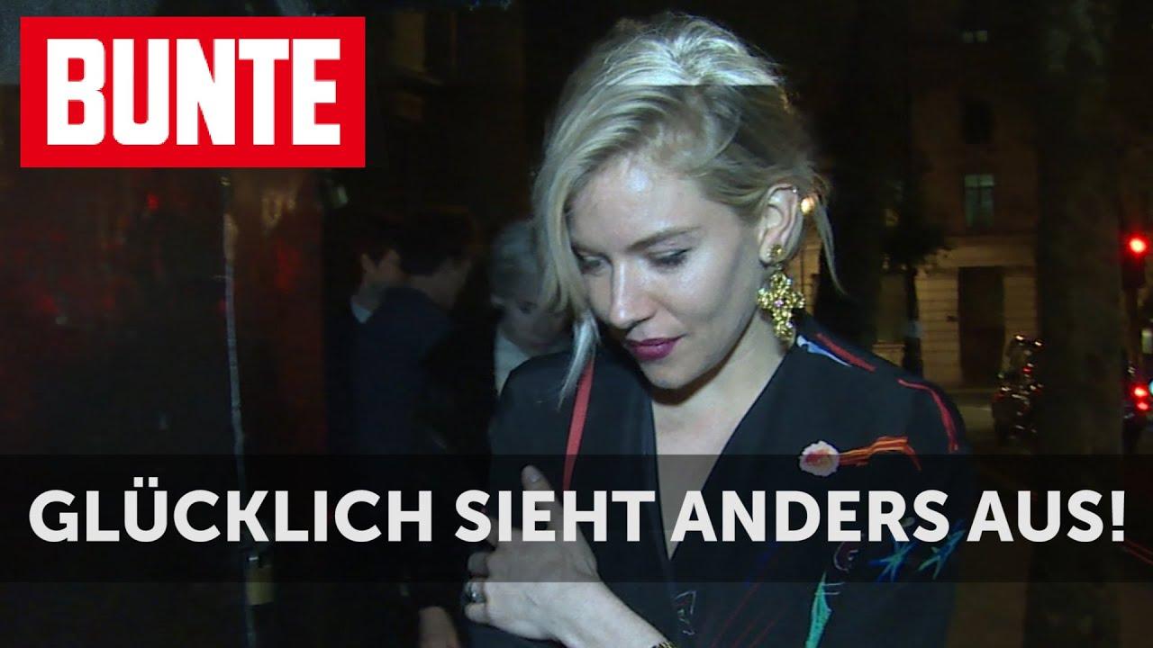 BUNTE TV - Sienna Miller & Tom Sturridge: Glücklich sieht anders aus!
