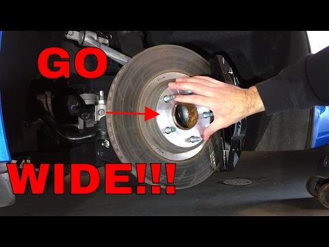 Wheel Spacers & Black Lug Install!!! (WeaponX) - C7 Corvette Z51