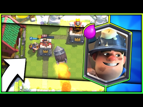 NEW MINER ROCKET CONTROL DECK! 4000+ Trophy Zap Bait Hybrid Deck - Arena 10 Clash Royale Strategy