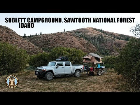 Sublett Campground, Sawtooth National Forest, Idaho