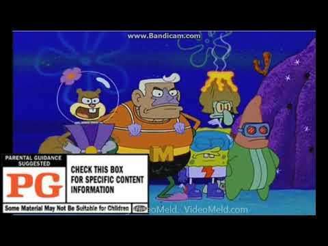 MPAA Ratings Portrayed by SpongeBob