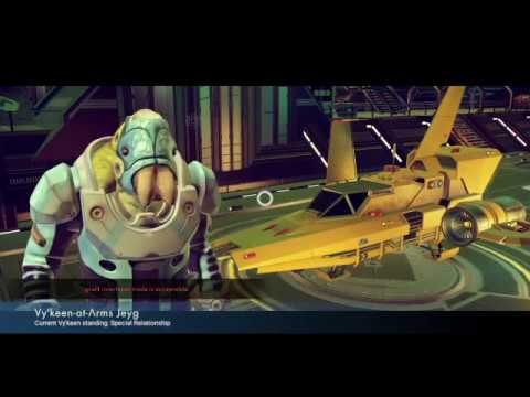 NMS 1.1 Freighter Acquisition
