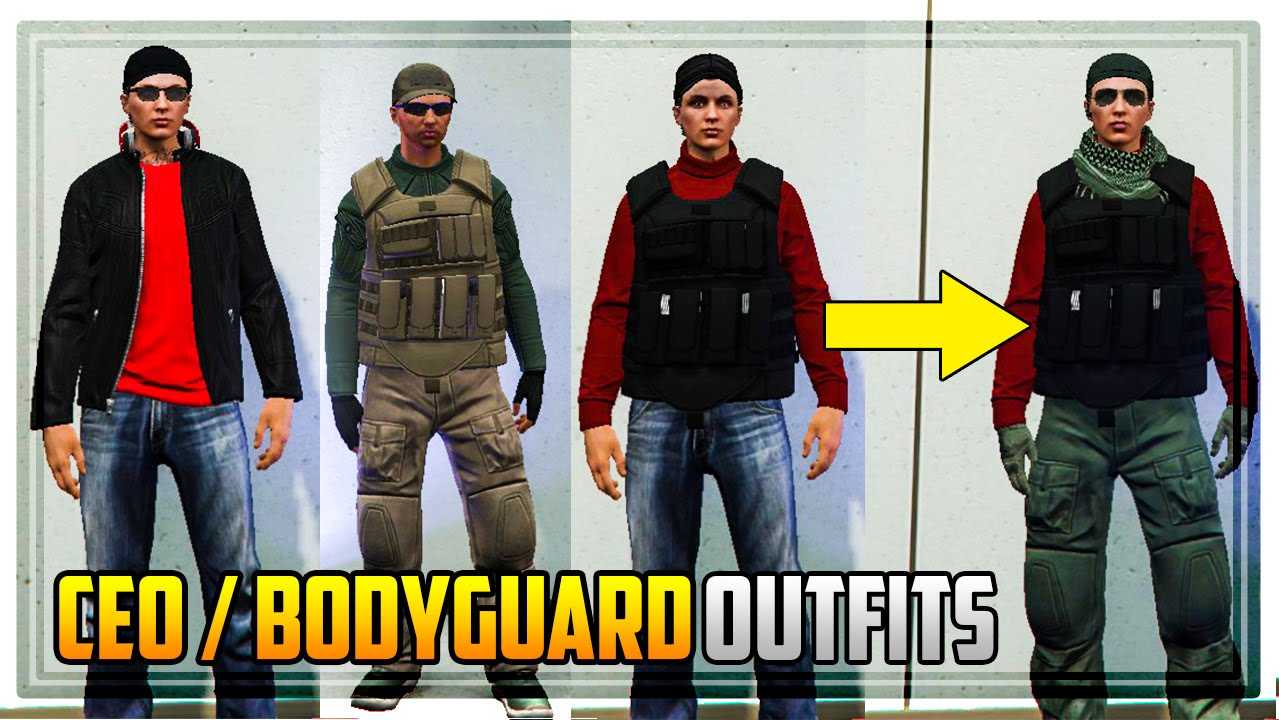 GTA 5 Online - HOW TO SAVE CEO / VIP / BODYGUARD OUTFITS PERMANENTLY AFTER PATCH 1.34! - YouTube