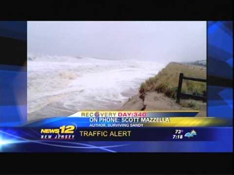 News 12 New Jersey Surviving Sandy (book) Interview