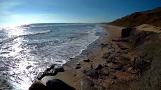 Прогулка по пляжу с SJcam 5000X elite Ещё один тестовый выход.(Купил эту камеру здесь. http://got.by/h6g8q Полное видео как мы поехали на пляж протестировать экшен камеру и убедит..., 2017-03-02T00:43:21.000Z)