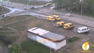 ДТП (авария) ул. Карбышева ул. Оломоуцкая 11-05-2015 13-09