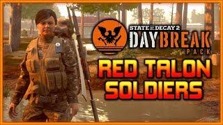New Skills, Traits, Attributes | Daybreak Red Talon Soldiers