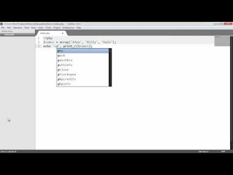 Download Youtube: Learn PHP: Arrays