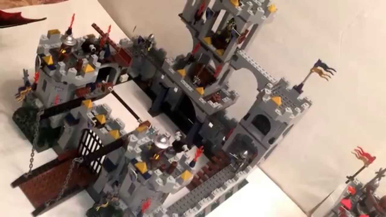 Lego 7094 Kings Castle Siege Review Youtube