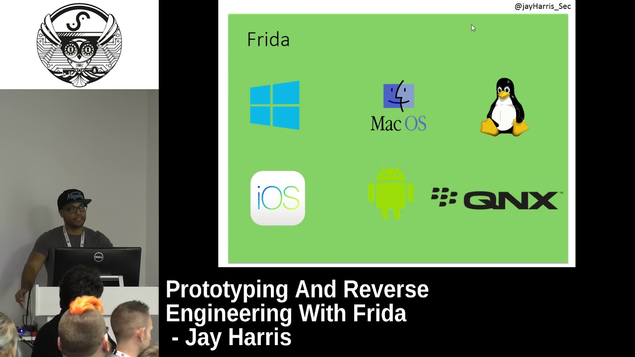 Prototyping And Reverse Engineering With Frida by Jay Harris