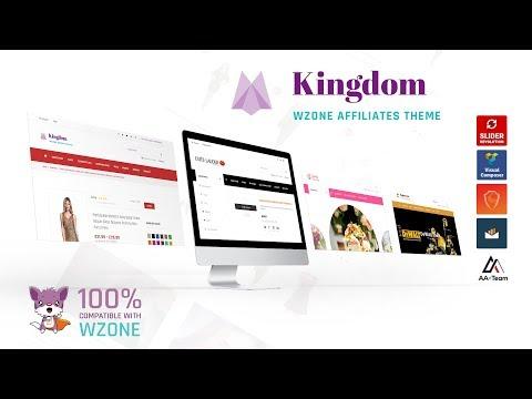 Kingdom - WZone Affiliates Theme Tutorial
