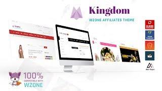 Kingdom Wordpress Theme Review & Demo | WooCommerce Amazon Affiliates Theme | Kingdom Price & How to Install