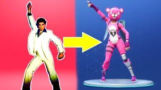 Fortnite ALL Dances - in real life fortnite hootenanny season 3 battle pass fortnite fornite