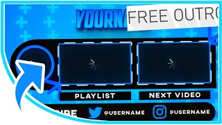 Free 2D Professional Sync Outro #3- After Effects Template
