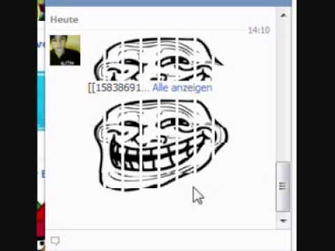 Facebook - Trollface In Chat