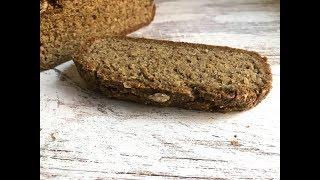 Хлеб из КИНОА и семян чиа! Простой рецепт Хлеба без яиц и муки.