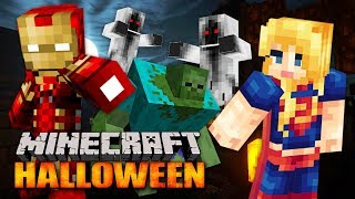 MINECRAFT HALLOWEEN SPECIAL!! MINECRAFT w/ MY GIRLFRIEND!! (Minecraft #12)