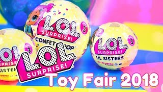 Toy Fair 2018: LOL SURPRISE | ALL NEW Blind Surprises | Punk Boi | Lil Punk Boi & More