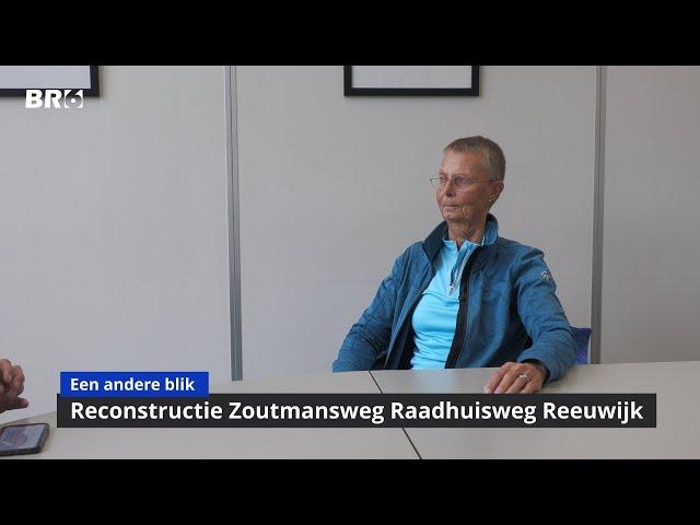 Reconstructie Zoutmansweg Raadhuisweg Reeuwijk