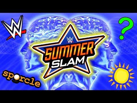 WWE SUMMERSLAM QUIZ - I CHALLENGE YOU!