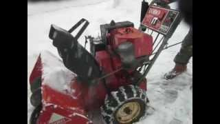 Toro 1032 Snow Blower on Active Duty