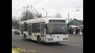Троллейбус Минска БКМ-32102, борт. 2158,марш.51 20.06.2019