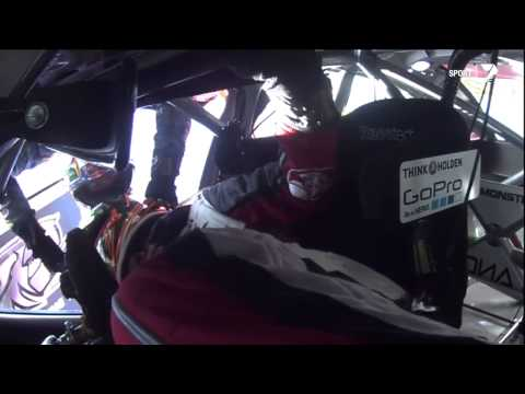 Luff & Lowndes Massive Crash & Roll - Bathurst 2014