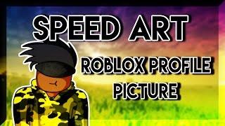 Roblox Speed Art| Profile Picture