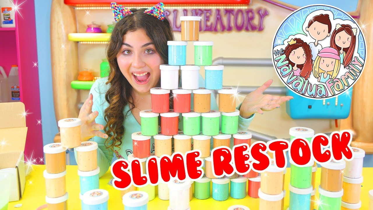 SLIME SHOP RESTOCK | TNFSLIMEATORY | September 30th | Etsy slime shop