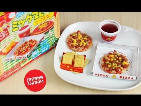 Pizza z proszku! - JAPANA zjadam #50    Agnieszka Grzelak Vlog