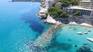 Mallorca | Paguera | Cala Pi | Luftaufnahme -movepics.ch