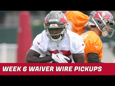 2018 Fantasy Football: Week 6 Waiver Wire Pickups