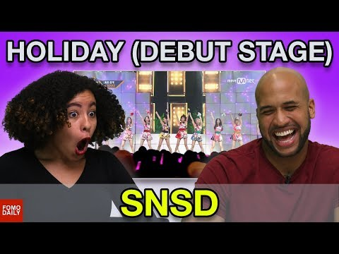 """Girls' Generation """"Holiday [Comeback Stage]"""" • Fomo Daily Reacts"""