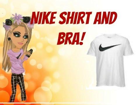 How To Make Nike Shirt and Bra! // MSP