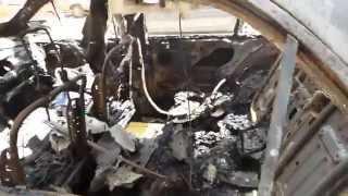 حرق سيارة الدكتور أحمد البارة أستاذ جراحة التجميل وأحد مؤيدي الشرعية بالمحلة الكبرى