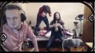 Лютики в исполнении Оляши,Саши и Моторкина