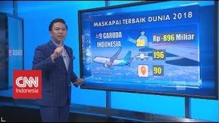 Maskapai Terbaik Dunia 2018, Garuda Indonesia Peringkat Berapa?
