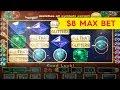 All That Glitters Slot - INCREDIBLE Live Play & Bonus - $8 Max Bet!