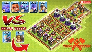 NEW BATTLE 🔥🔥 Most Hardest Troops vs Special Troops - Clash of Clans Unlimited Battles |By #TPCOC8BP