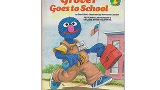 Grover Goes to School Book On Tape
