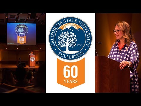 CSUF Convocation 2017 | Monday, August 14th